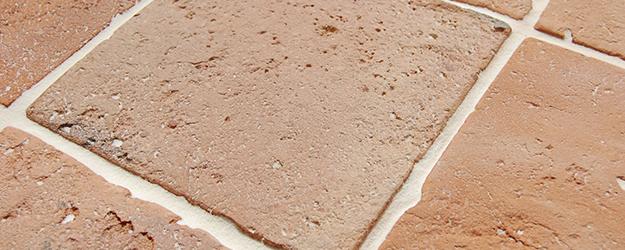 Natural Cut Terracotta Floor Tile - KleanSTONE Floor Cleaning Machines
