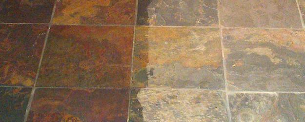 Sealed Stone Floor - Stone Floor Sealers - KleanSTONE