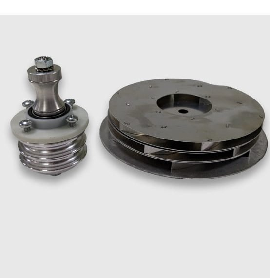 Rotating Shaft and Bearings and Fans