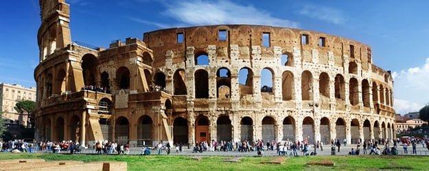 Travertine Colosseum - Rome Colosseum - KleanSTONE Travertine Floor Cleaner