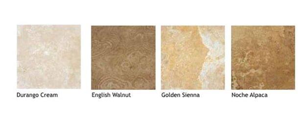 Travertine Floors - Types of Travertine---KleanSTONE Travertine-Floor - 2