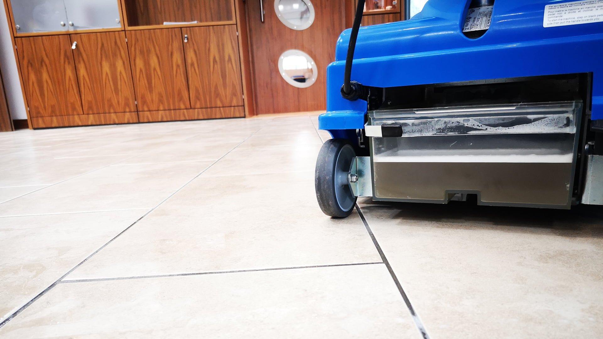 Floor Cleaning Machine - Stone Floor Cleaning Machine - KleanSTONE Floor Cleaning Machine