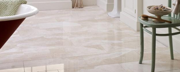 Marble Floor - Belgravia Polished Marble - Polished Marble Bathroom Tiles - KleanSTONE Floor Cleaning