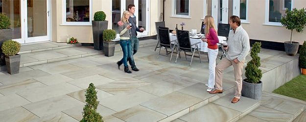 Patio Cleaning - Dream Patio - External Stone Flooring - Stone Patio - KleanSTONE Patio Cleaning