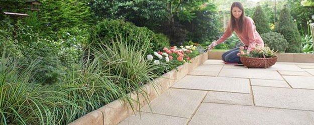 Patio Cleaning - Patio Gardening - Stone Patio - External Stone Flooring - KleanSTONE Patio Cleaning
