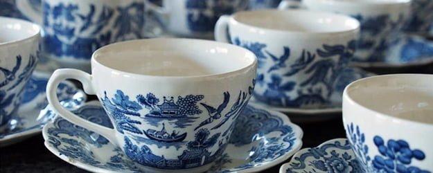 Cleaning Porcelain Floor Tiles - Porcelain Cup - KleanSTONE